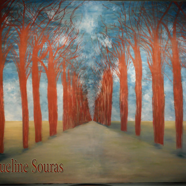 Walk in the woods with me. 300cm x 200cm Oil on canvas. $25,000.