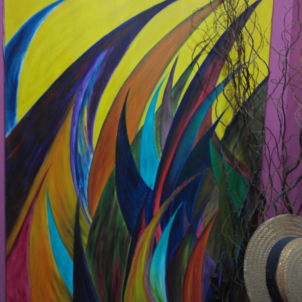 Wings A. 200cm x100cm. Oil on canvas. $7000.00.