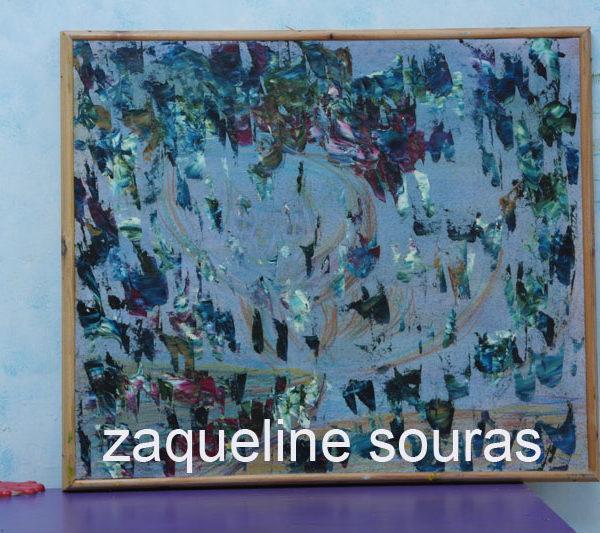 44 OWL Oil on canvas on board 39 cm x 36 cm Zaqueline Souras