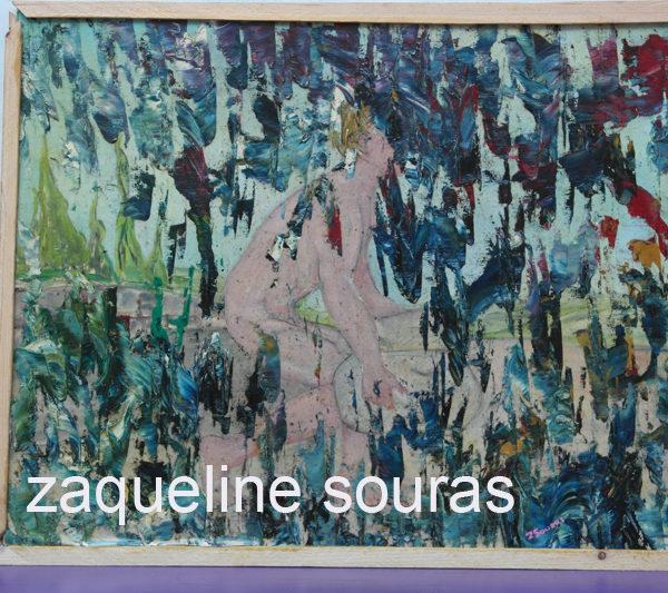 41 ANTOXH oil on canvas on board 42 cm x 32 cm Zaqueline Souras