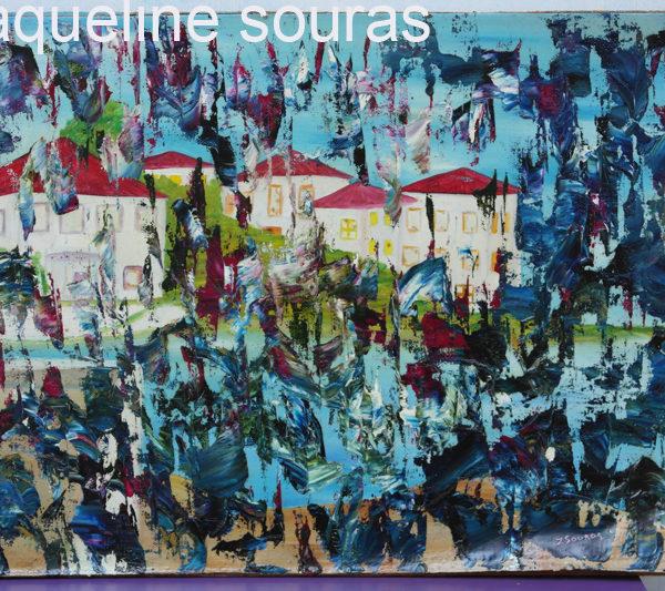 24 House oil on canvas on board 45 cm x 33 cm Zaqueline Souras